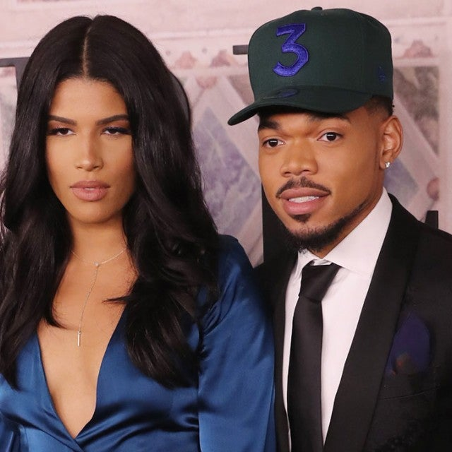 Chance the Rapper and wife at nyfw 2018