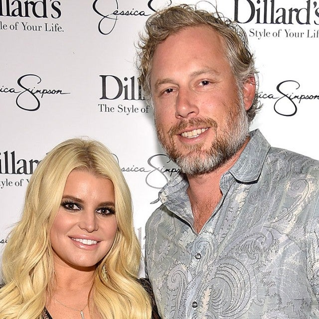 Jessica Simpson and Eric Johnson in 2017