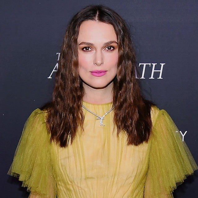 Keira Knightley at the aftermath screening in nyc