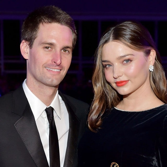 Evan Spiegel and Miranda Kerr in November 2018