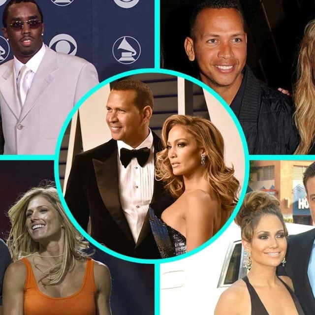 Alex Rodriguez and Jennifer Lopez's Romantic History