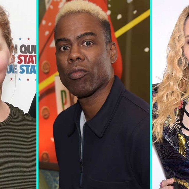 Amy Schumer, Chris Rock and Madonna