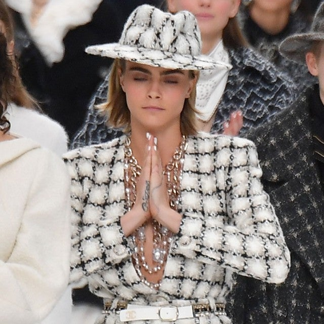 Cara Delevingne at Chanel show 1280