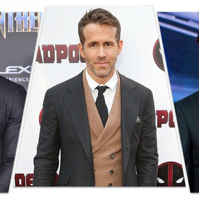 Michael B Jordan, Ryan Reynolds, Robert Pattinson