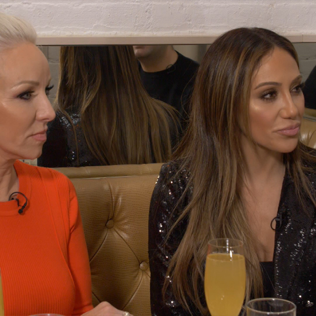 ET sat down with 'The Real Housewives of New Jersey' stars to talk