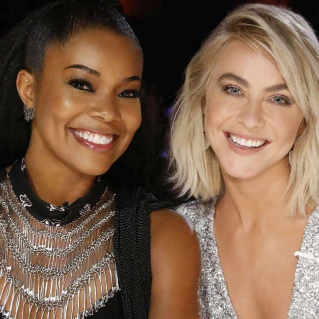 Gabrielle Union and Julianne Hough as the new judges on NBC's 'America's Got Talent' Season 14