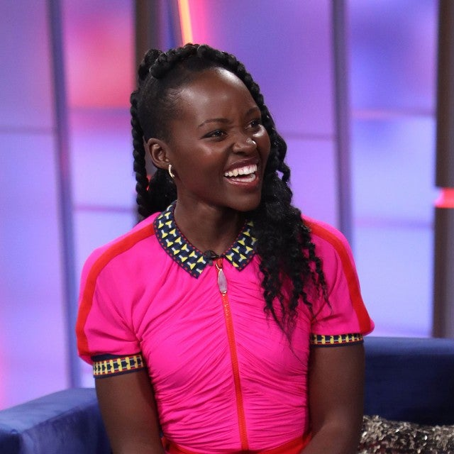 Lupita Nyong'o at 'Un Nuevo Dia' at Telemundo Center