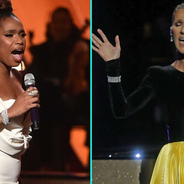 Jennifer Hudson and Celine Dion perform at 'Aretha! A Grammy Celebration for the Queen of Soul.'