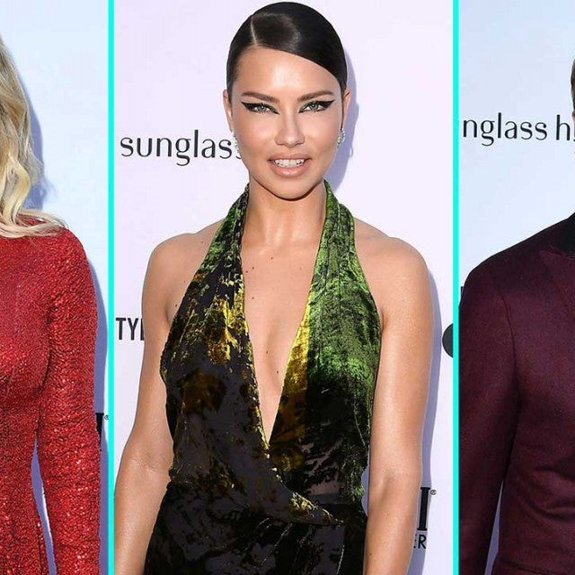 Kate Hudson, Adriana Lima and James Marsden at the Daily Front Row's 5th Annual Fashion Los Angeles Awards