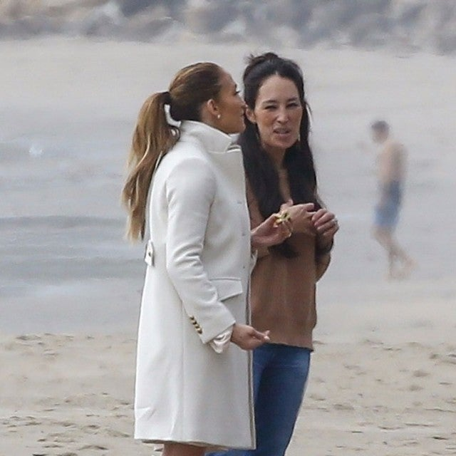 Jennifer Lopez and Joanna Gaines