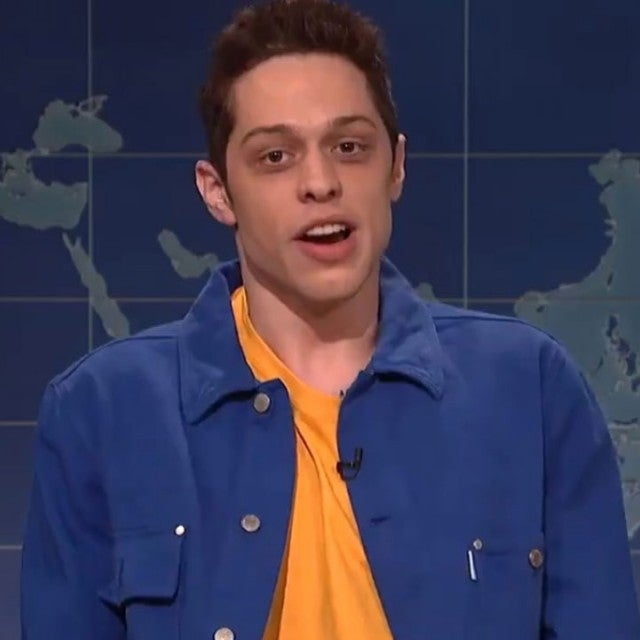 Pete Davidson on 'Saturday Night Live's 'Weekend Update'
