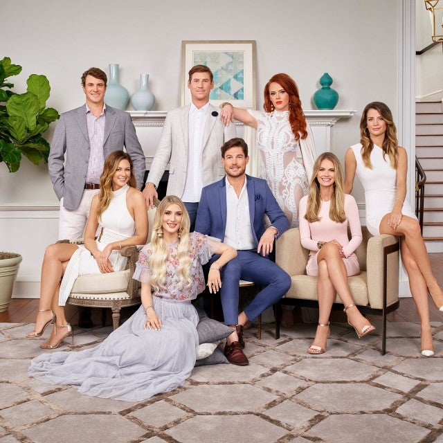The cast of 'Southern Charm' season six.