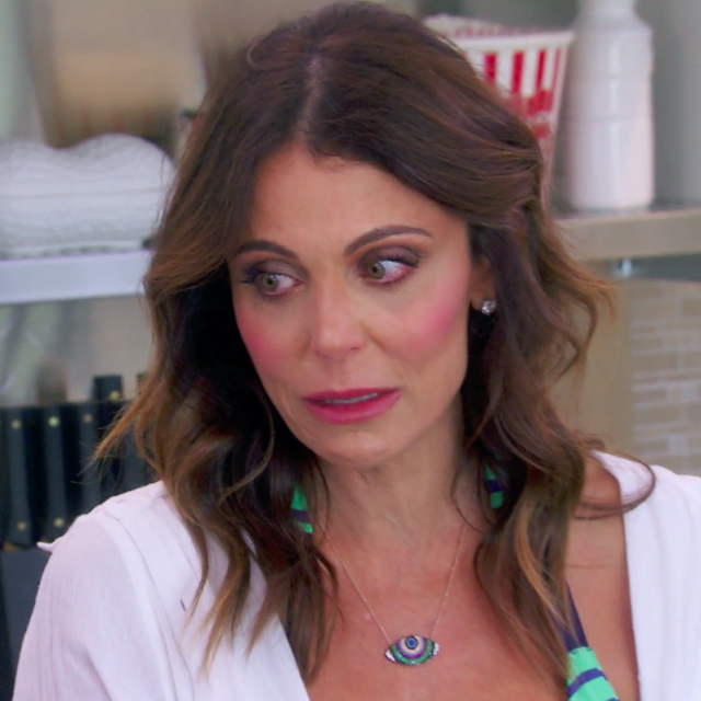Bethenny Frankel tears up on 'The Real Housewives of New York City.'