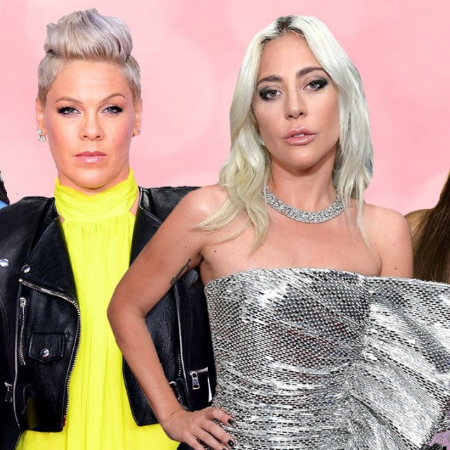 Kacey Musgraves, Pink, Lady Gaga and Ariana Grande International Women's Day