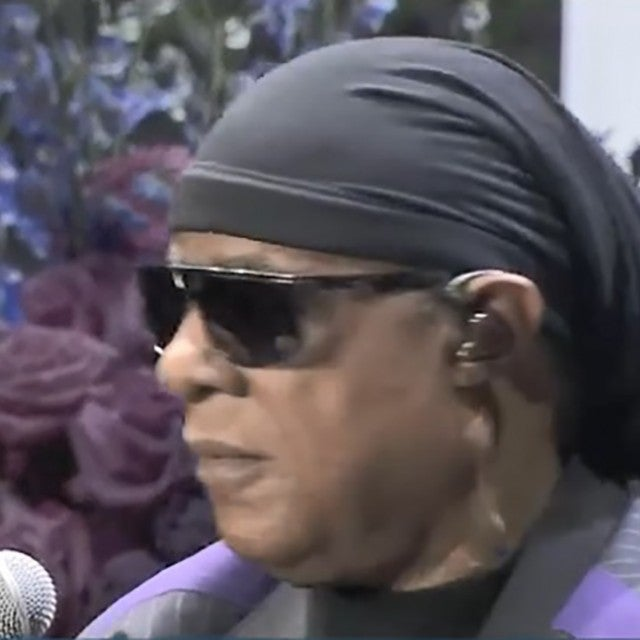 Stevie Wonder at Nipsey Hussle memorial service
