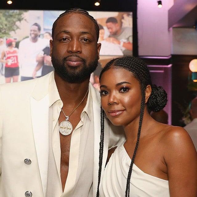 Dwyane Wade and Gabrielle Union on April 8