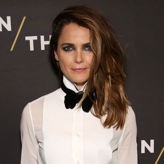 Keri Russell at Burn This opening night
