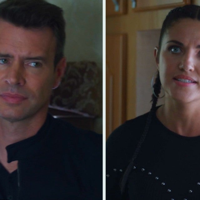 Scott Foley Confronts Wife Marika Dominczyk in This 'Whiskey Cavalier' Sneak Peek (Exclusive)