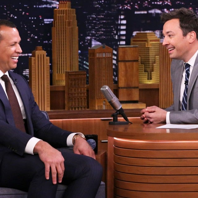 Alex Rodriguez and Jimmy Fallon on the 'Tonight Show'