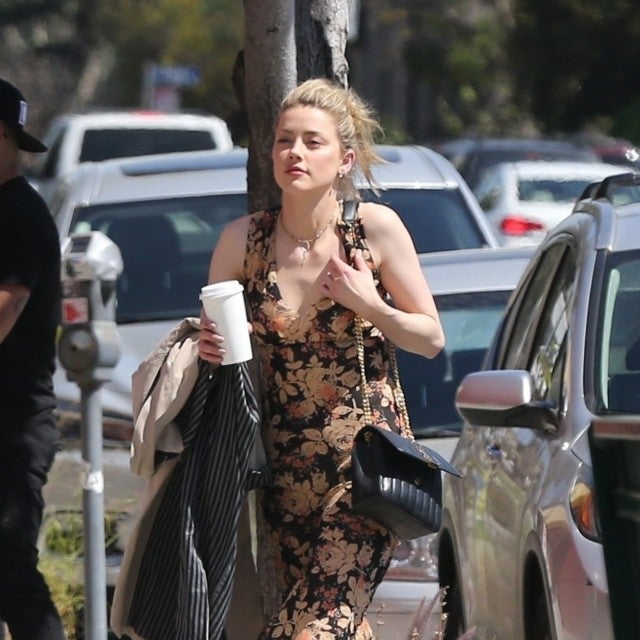 Amber Heard goes to a movie in LA