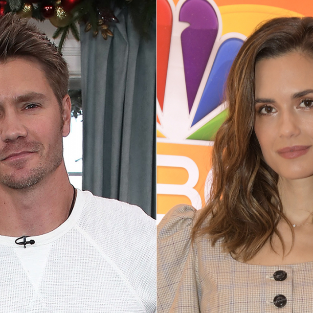 Chad Michael Murray and Torrey DeVitto