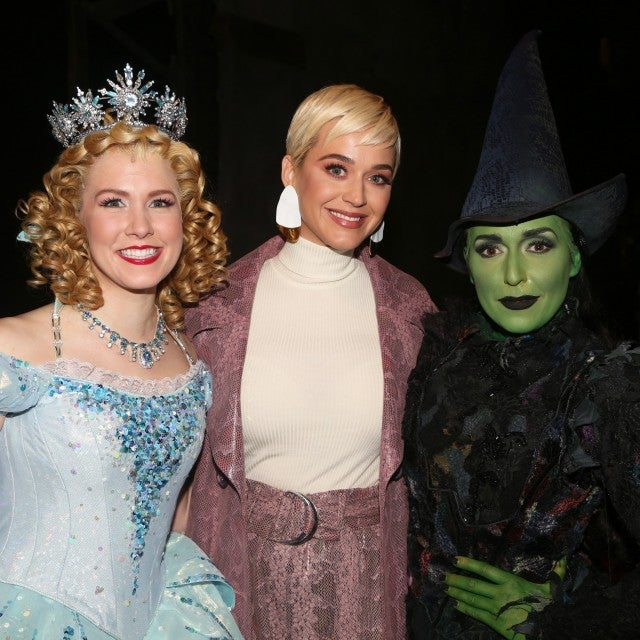 Katy Perry at Wicked