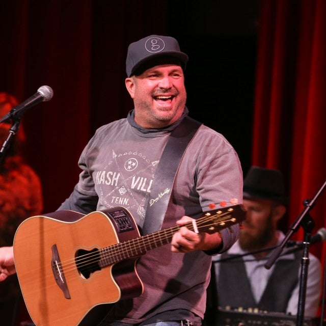 Garth Brooks at we all come together benefit