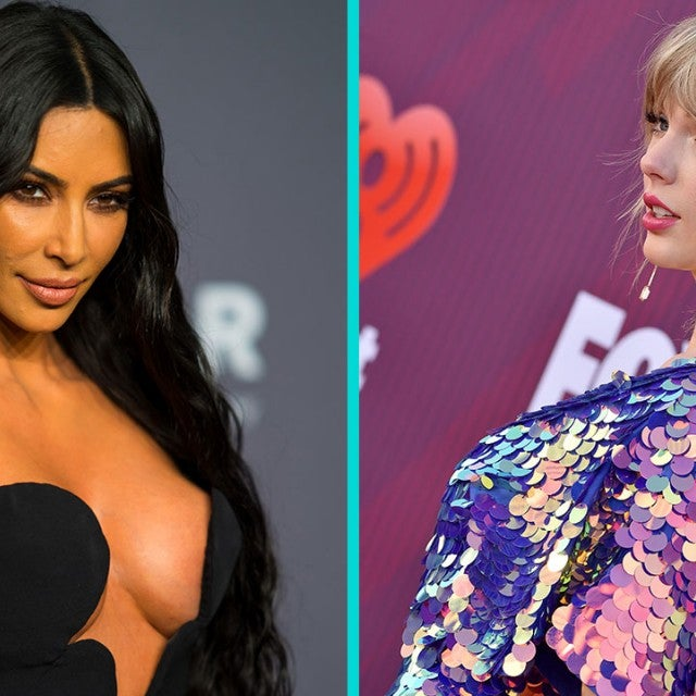 Kim Kardashian and Taylor Swift