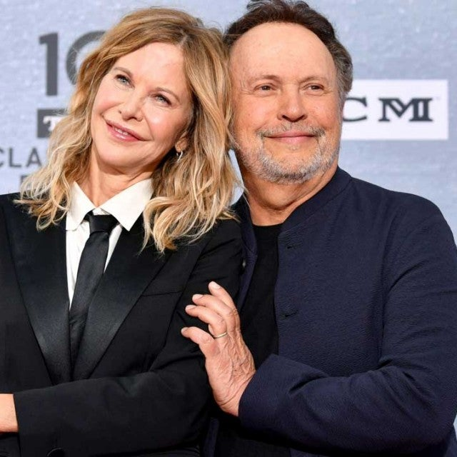 Meg Ryan and Billy Crystal at 30th Anniversary Screening of 'When Harry Met Sally' in Hollywood on April 11