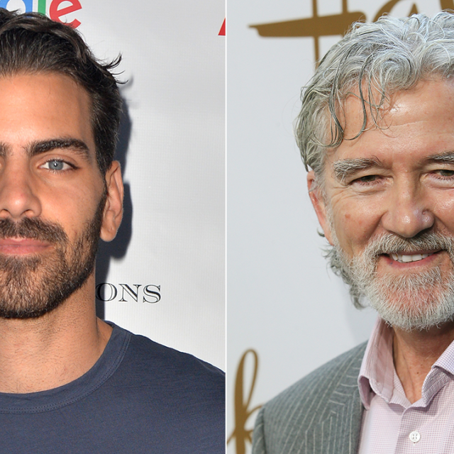 Nyle DiMarco and Patrick Duffy
