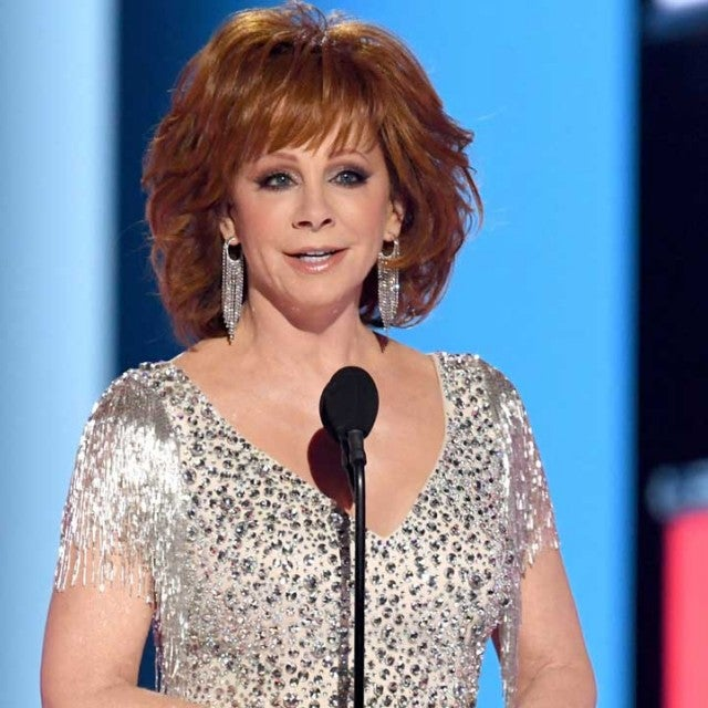 Reba McEntire hosts the the 54th Academy Of Country Music Awards in Las Vegas on April 7