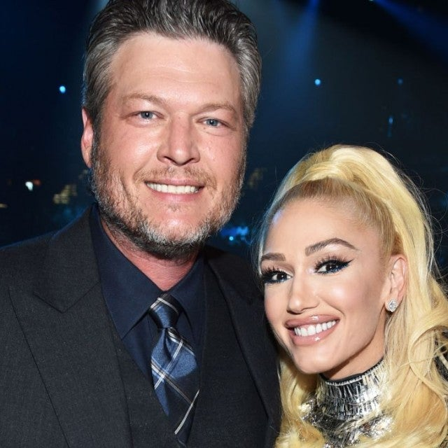 Gwen Stefani and Blake Shelton at 2019 ACM Awards