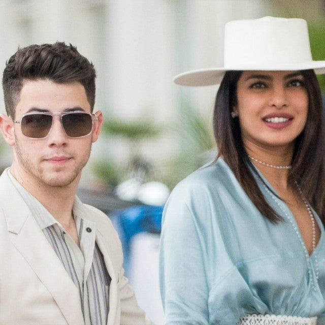 Nick Jonas and Priyanka Chopra Cannes