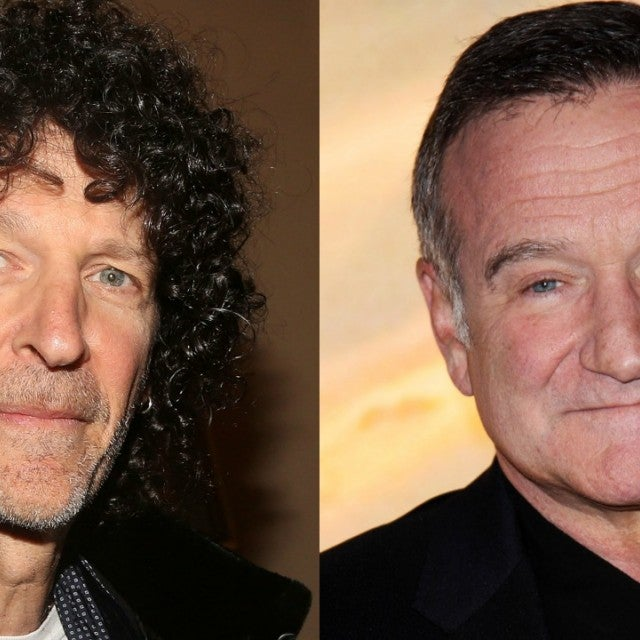 Howard Stern, Robin Williams