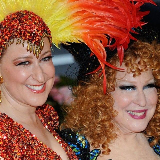 Bette Midler and Sophie Von Haselberg at he 2019 Met Gala