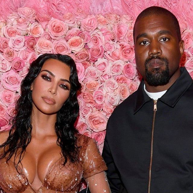 Kim Kardashian and Kanye West at 2019 met gala