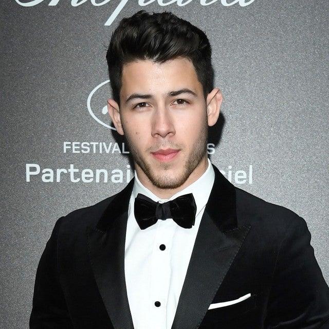 Nick Jonas in tux in cannes