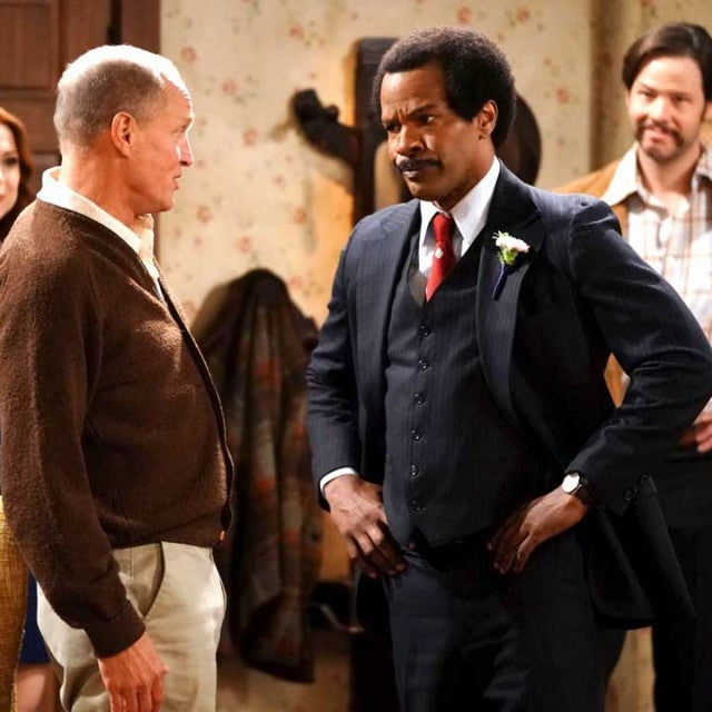 Woody Harrelson and Jamie Foxx in 'All in the Family' remake
