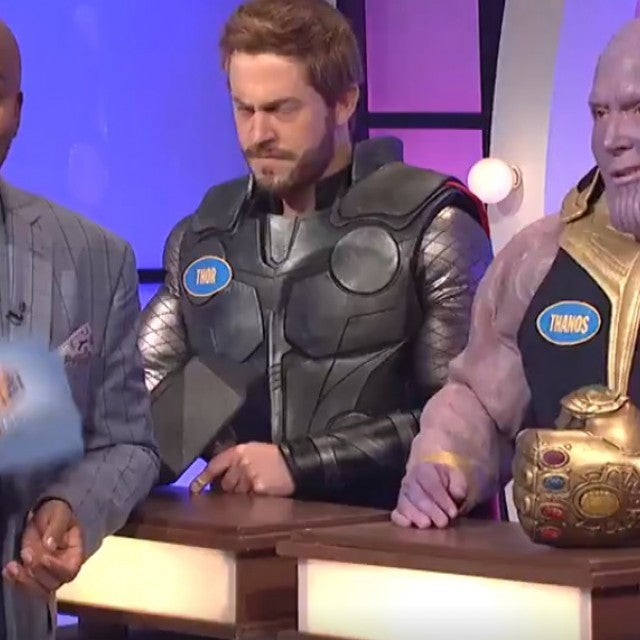 'Avengers' characters on 'Family Feud' on 'SNL'