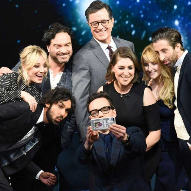 The 'Big Bang Theory' Cast on 'The Late Show'