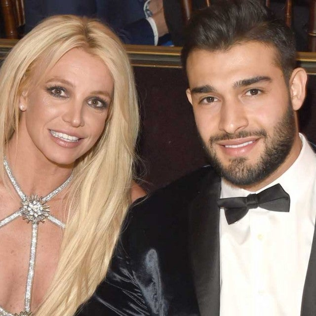 Britney Spears' and her boyfriend, Sam Asghari.