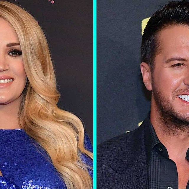 Carrie Underwood and Luke Bryan