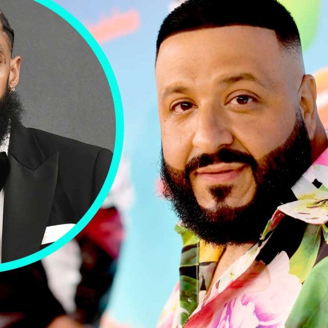 DJ Khaled with Nipsey Hussle (inset)
