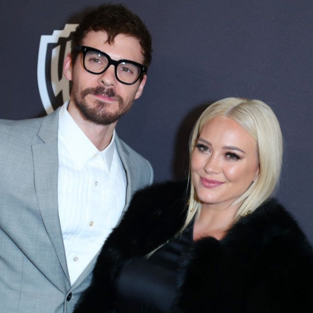Matthew Koma and Hilary Duff in January 2019
