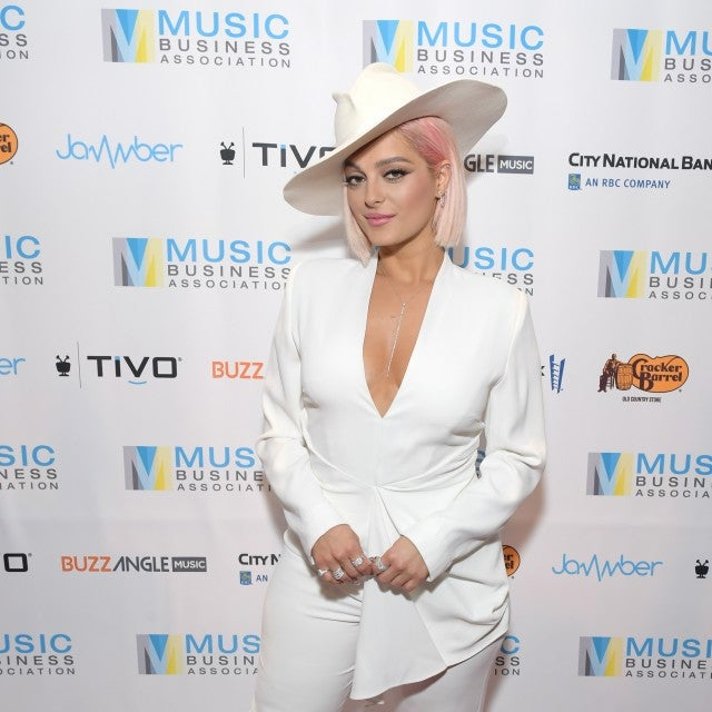 Bebe Rexha at the Music Biz 2019 Awards & Hall of Fame event