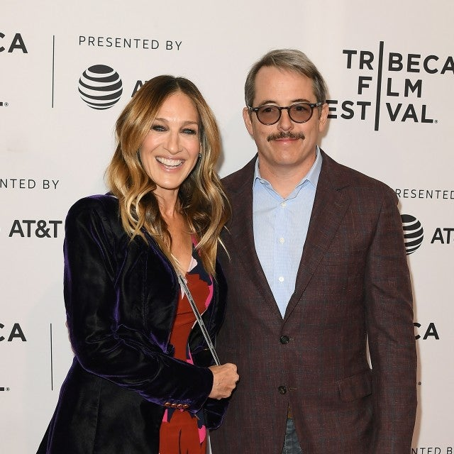 Sarah Jessica Parker and Matthew Broderick attend a screening of 'To Dust' during the 2018 Tribeca Film Festival at SVA Theatre on April 22, 2018 in New York City.