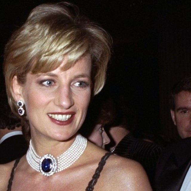 Princess Diana at 1996 Met Gala