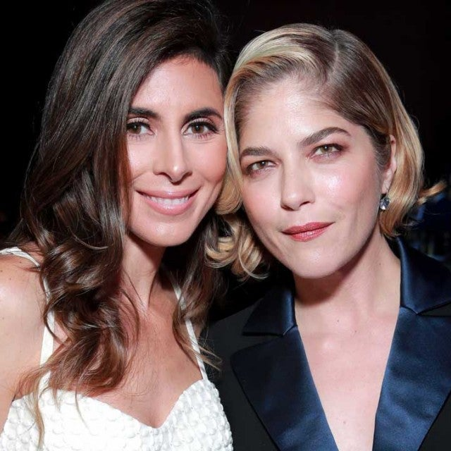 Jamie-Lynn Sigler and Selma Blair at the 26th Annual Race to Erase MS Gala at The Beverly Hilton Hotel in Beverly Hills on May 10.