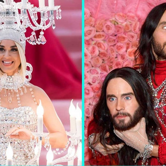 Katy Perry and Jared Leto at the 2019 Met Gala
