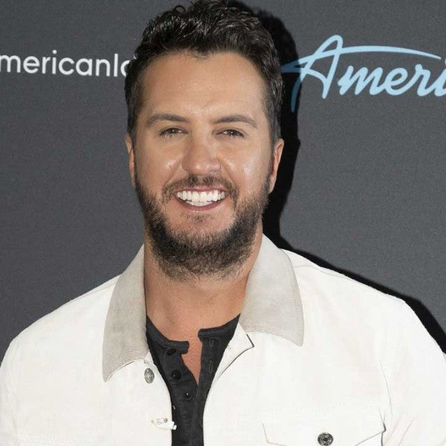 Luke Bryan backstage at 'American Idol'